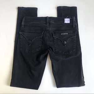 Hudson Black Collin Flap Jeans